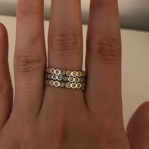 Jewelry - Silver, Gold & Rose Gold Rings